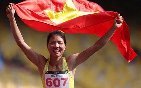 Bùi Thị Thu Thảo giành huy chương vàng nhảy xa châu Á