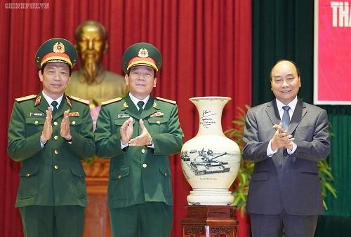 Thủ tướng: Binh chủng Tăng thiết giáp cần làm chủ phương tiện, trang thiết bị mới - 1