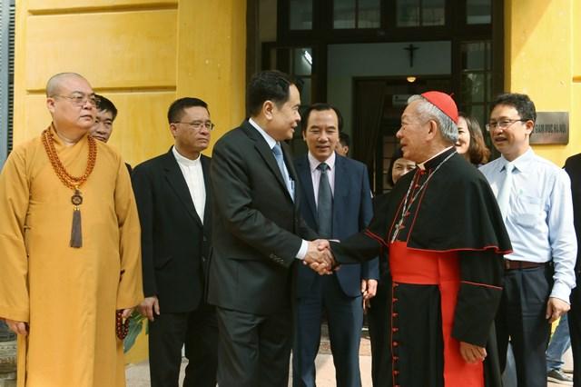 Chủ tịch Trần Thanh Mẫn gửi thư chúc mừngLễ Phục sinh năm 2020