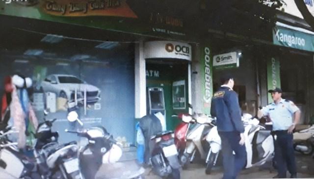 Đà Nẵng: Một trụ ATM bị kẻ gian cậy phá