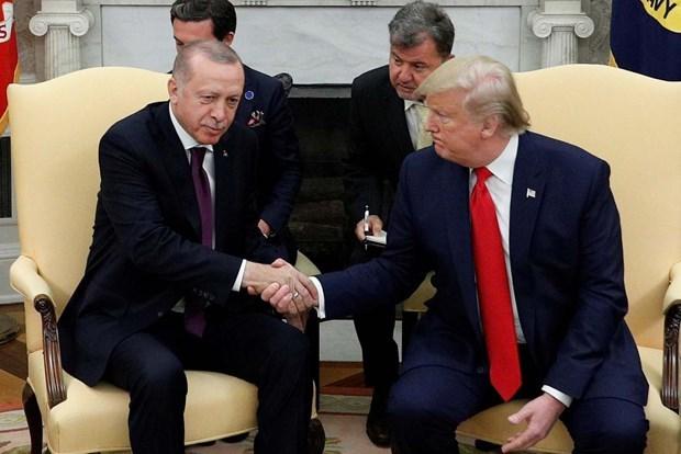 Tổng thống Thổ Nhĩ Kỳ Tayyip Erdogan bắt đầu chuyến thăm Mỹ