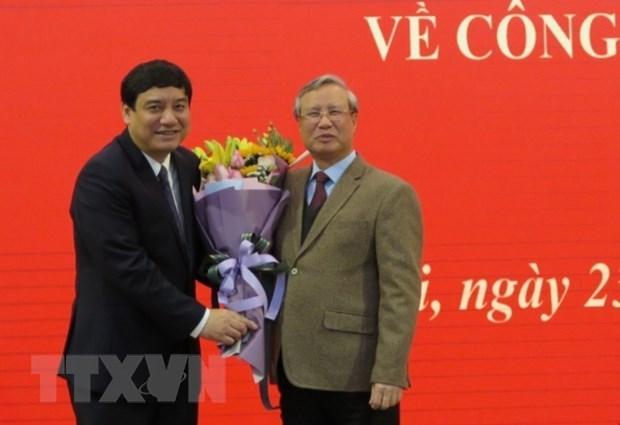 Bí thư Tỉnh ủy Nghệ An giữ chức Phó Chánh Văn phòng Trung ương