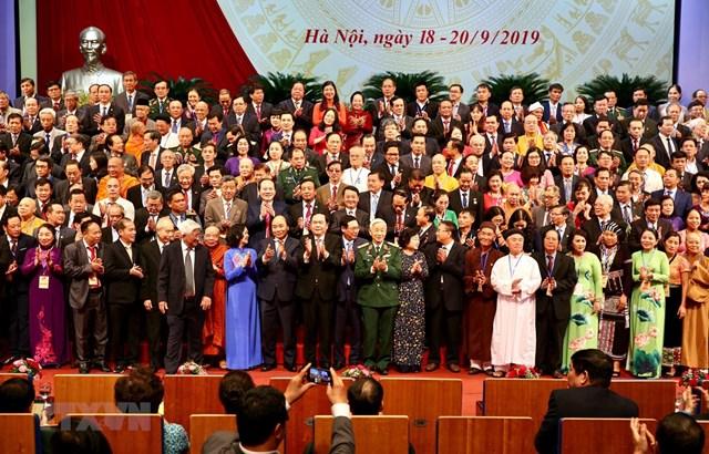 Đoàn kết, dân chủ, đổi mới và phát triển, nhằm phát huy cao độ sức mạnh đại đoàn kết toàn dân tộc