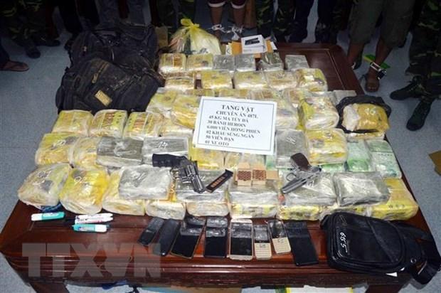 Sơn La: 3 án tử hình, 2 án chung thân trong vụ mua bán 33 bánh heroin