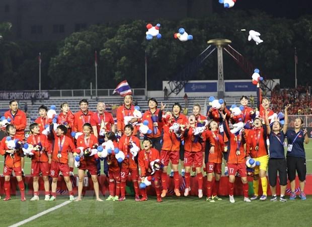 Tuyết Dung: 'Chúc U22 Việt Nam vô địch để bóng đá nam nữ đều vui' - 1