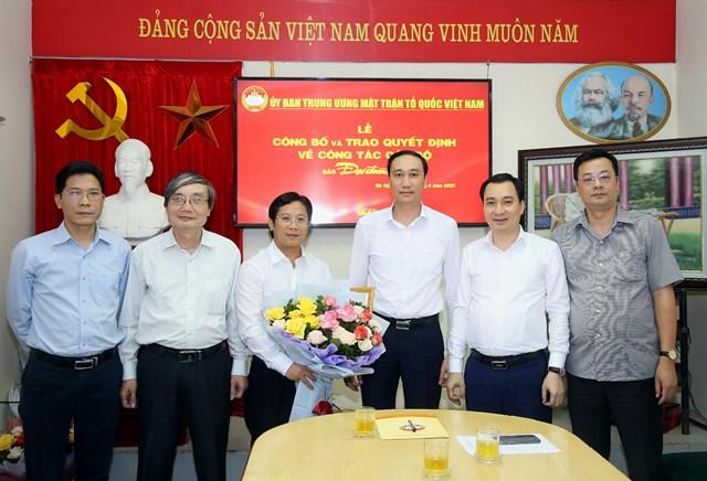 Nhà báo Lê Anh Đạt là Phó Tổng Biên tập Báo Đại Đoàn Kết - 1