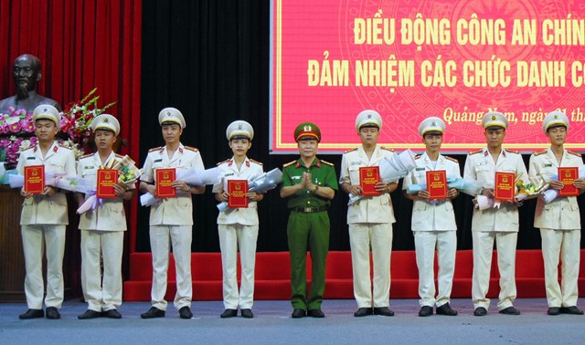 Quảng Nam: Điều động 40 Công an chính quy xuống Công an xã