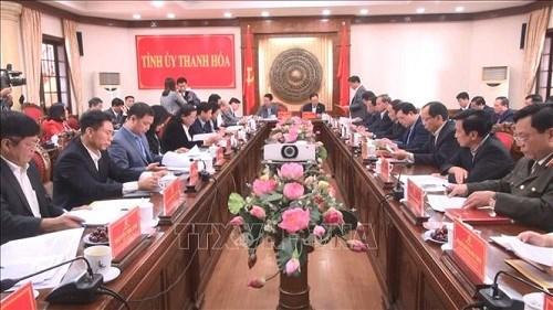 Trưởng Ban Tuyên giáo Trung ương làm việc với tỉnh Thanh Hóa - 1