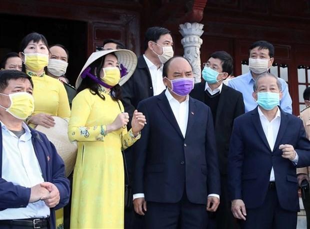 Thủ tướng kiểm tra công tác phòng chống dịch nCoV tại Thừa Thiên-Huế - 1