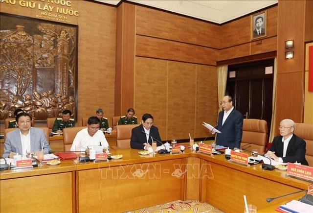 Tổng Bí thư, Chủ tịch nước chủ trì Hội nghị Quân ủy Trung ương - 1