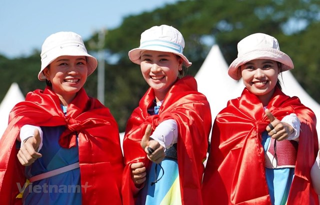 SEA Games 30: Bắn cung Việt Nam giành huy chương Vàng đầu tiên