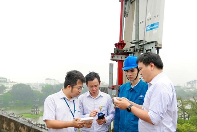 VNPT thử nghiệm VinaPhone 5G đạt tốc độ 2,2Gbps