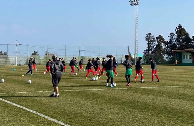 Bóng đá nữ:Tập trung vào trận đấu quan trọng