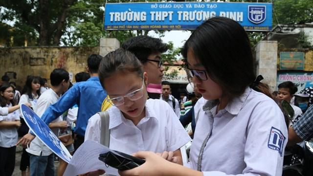 Hà Nội quyết định bỏ môn thi thứ tư tuyển sinh lớp 10