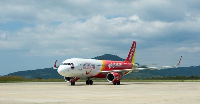 Vietjet tiếp tục khuyến mại lớn cho các đường bay tại Thái Lan với giá chỉ từ 6.500 đồng