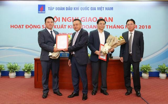 Ông Nguyễn Xuân Hòa làm Phó Tổng giám đốc Tập đoàn Dầu khí Việt Nam