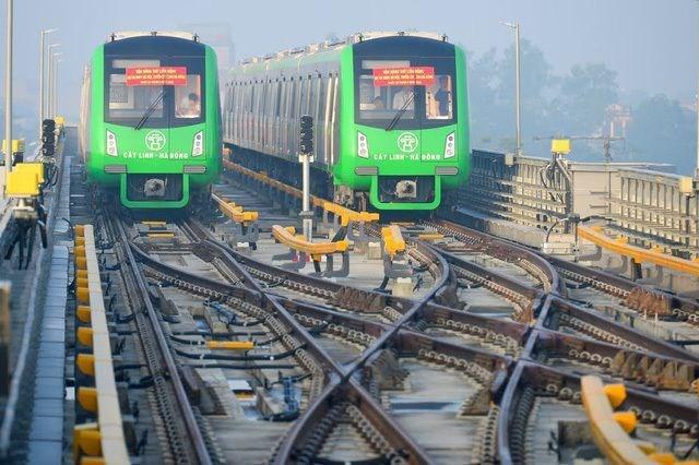 Hà Nội vay gần 100 triệu đô la vận hành tuyến đường sắt Cát Linh - Hà Đông