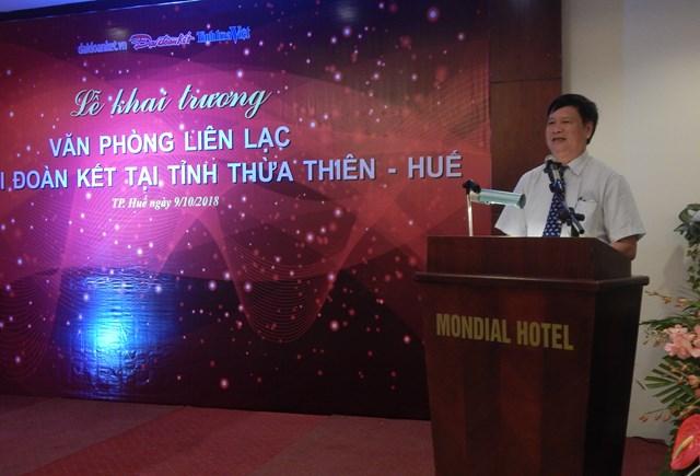 Ra mắt Văn phòng liên lạc báo Đại Đoàn Kết tại Thừa Thiên - Huế - 1