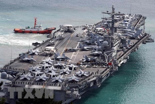 Bắt đầu cuộc tập trận hải quân quốc tế ở ngoài khơi đảo Jeju