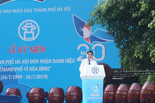 Thủ đô nghìn năm văn hiến tự hào với danh hiệu 'Thành phố vì hòa bình' - 1