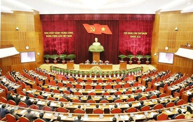 Khai mạc Hội nghị lần thứ 10 Ban Chấp hành Trung ương Đảng khóa 12 - 1