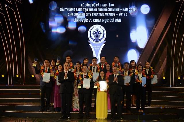 Trao Giải thưởng sáng tạo TP HCM năm 2019 cho 44 công trình - 1