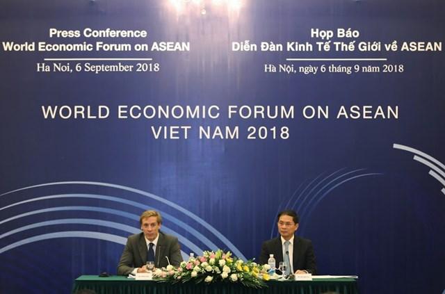 1.000 đại biểu tham dự Hội nghị WEF ASEAN tại Việt Nam