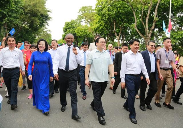 Thủ đô nghìn năm văn hiến tự hào với danh hiệu 'Thành phố vì hòa bình'
