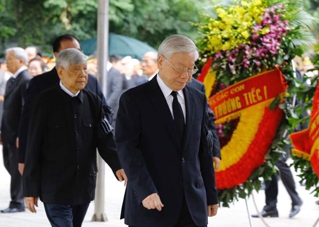 Lễ viếng Chủ tịch nước Trần Đại Quang - 4