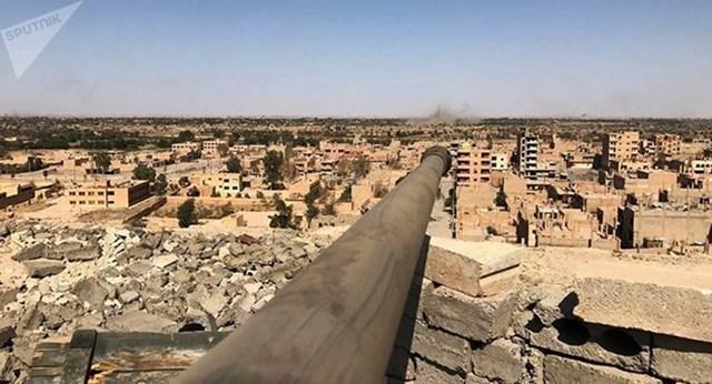 Lầu Năm Góc dự kiến thiết lập lá chắn tên lửa ở miền Bắc Syria