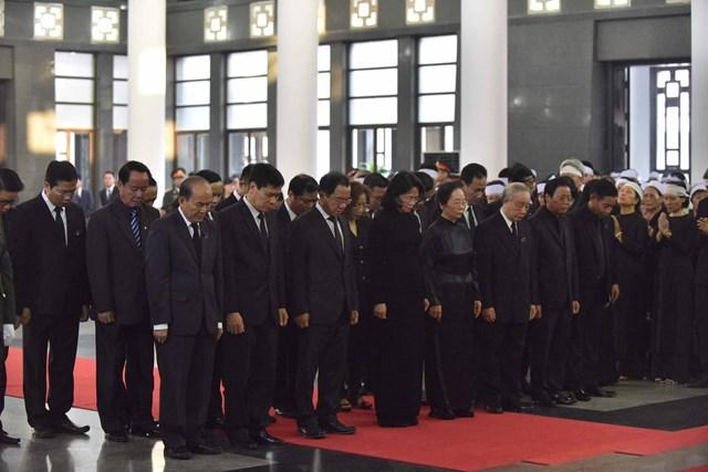 Tổ chức trọng thể lễ viếng nguyên Tổng Bí thư Đỗ Mười - 10
