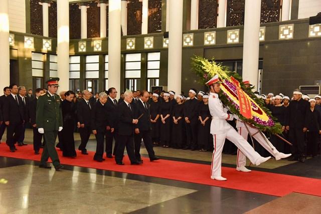 Tổ chức trọng thể lễ viếng nguyên Tổng Bí thư Đỗ Mười - 7