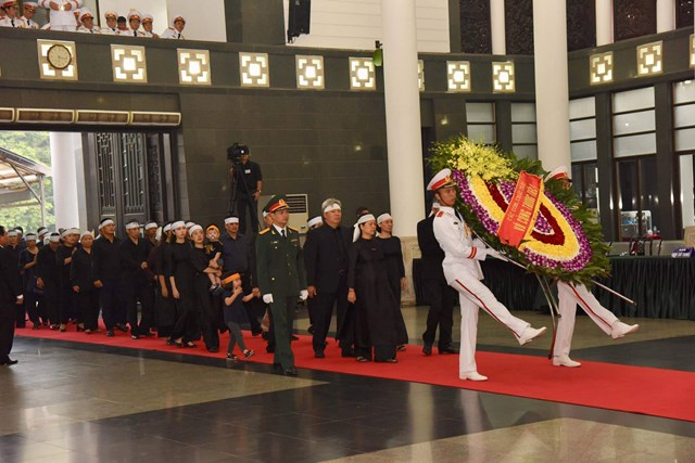 Tổ chức trọng thể lễ viếng nguyên Tổng Bí thư Đỗ Mười - 4