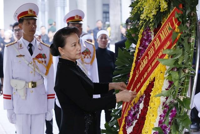 Tổ chức trọng thể lễ viếng nguyên Tổng Bí thư Đỗ Mười - 17