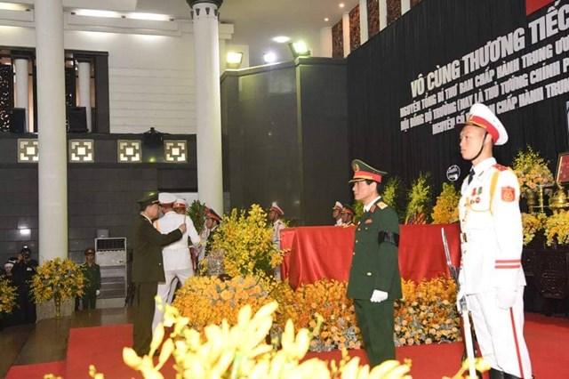 Tổ chức trọng thể lễ viếng nguyên Tổng Bí thư Đỗ Mười - 25
