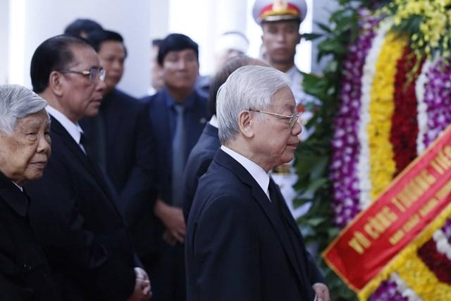 Tổ chức trọng thể lễ viếng nguyên Tổng Bí thư Đỗ Mười - 6