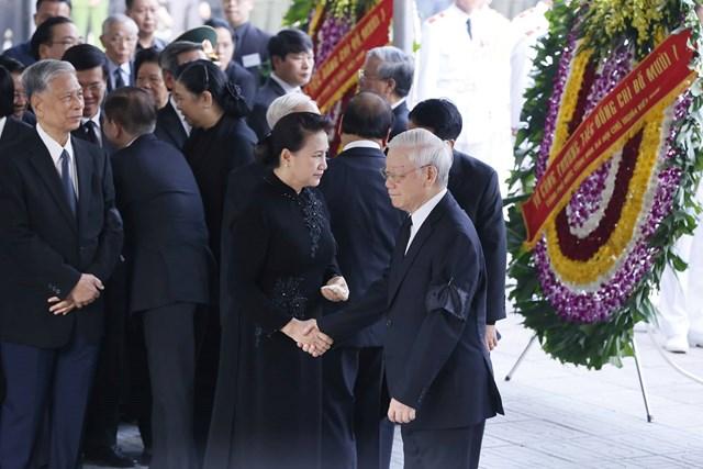 Tổ chức trọng thể lễ viếng nguyên Tổng Bí thư Đỗ Mười - 3