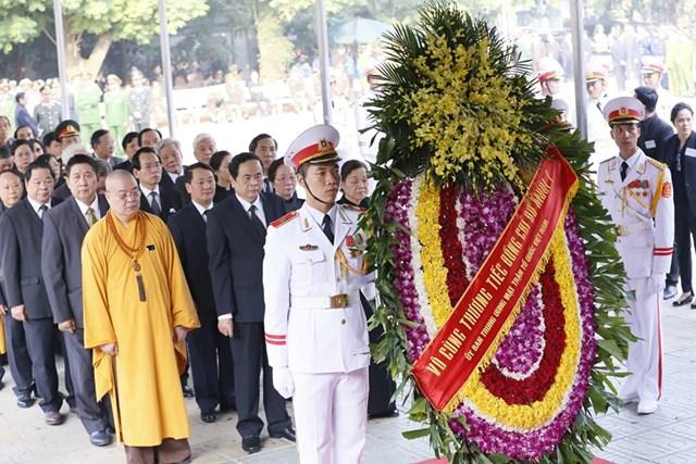Tổ chức trọng thể lễ viếng nguyên Tổng Bí thư Đỗ Mười - 19