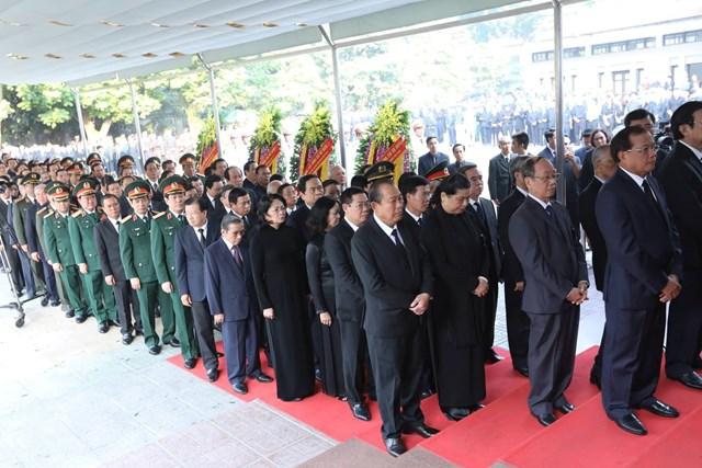 Tổ chức trọng thể lễ viếng nguyên Tổng Bí thư Đỗ Mười - 1