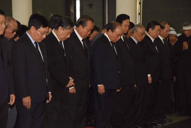Tổ chức trọng thể lễ viếng nguyên Tổng Bí thư Đỗ Mười - 14