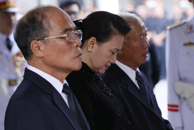 Tổ chức trọng thể lễ viếng nguyên Tổng Bí thư Đỗ Mười - 16