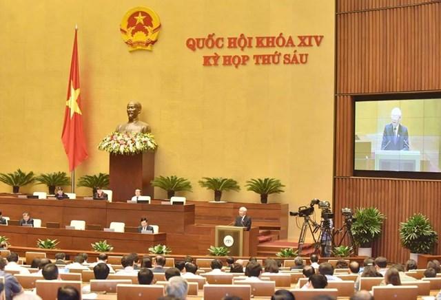 Chủ tịch nước Nguyễn Phú Trọng trình Quốc hội phê chuẩn Hiệp định CPTPP - 1