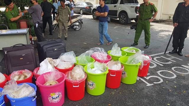 Bắt giữ nhóm người nước ngoài buôn bán 500 kg ma túy
