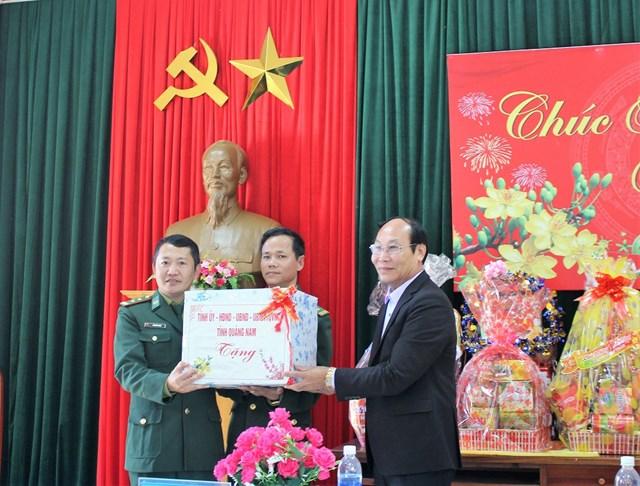 Mặt trận Quảng Nam thăm, chúc Tết các đồn Biên phòng - 1