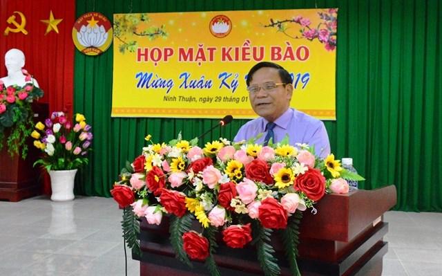 Ninh Thuận: Họp mặt kiều bào mừng Xuân Kỷ Hợi 2019