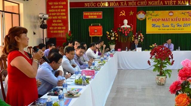 Ninh Thuận: Họp mặt kiều bào mừng Xuân Kỷ Hợi 2019 - 1