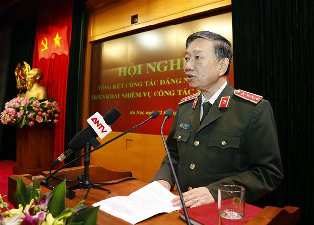 Đảng ủy Công an Trung ương tổng kết công tác Đảng năm 2018, triển khai nhiệm vụ năm 2019