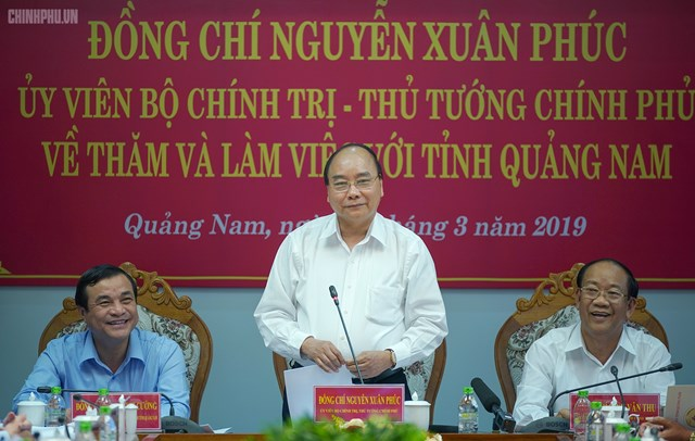 Thủ tướng: Quảng Nam phải tăng gấp đôi quy mô kinh tế trong 5 năm - 1