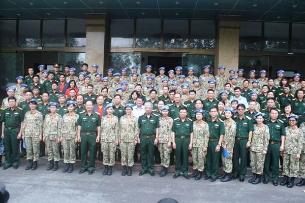 Quân đội Việt Nam chuẩn bị xuất quân lực lượng gìn giữ hòa bình tại Liên Hợp Quốc - 1