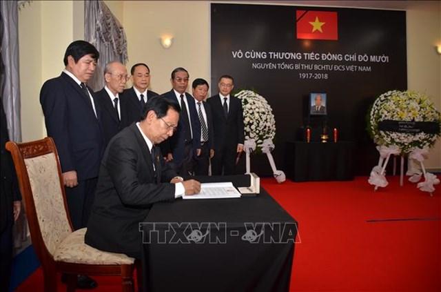 Các nước chia buồn với Đảng, Nhà nước và nhân dân Việt Nam - 3